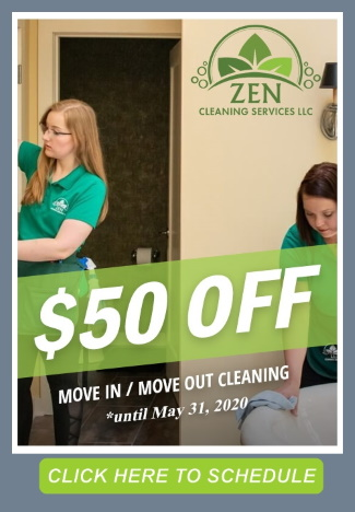 Move out Move In Cleaning Special $50 off